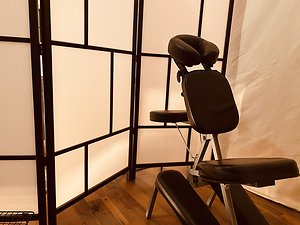 Therapies. Acupressure Chair